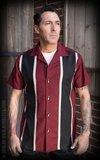 Classic Shirt Two Stripes - RedWine