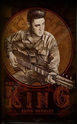 Poster - Young Elvis